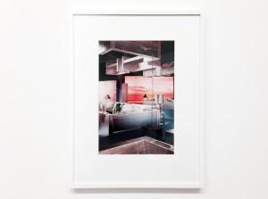 Samara Golden, Mass Murder, blue room #1, 2014