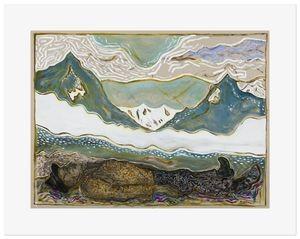 Billy Childish, beneath the sky, 2015