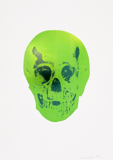 Damien Hirst — The Sick Dead: Lime Green / Racing Green