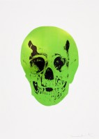 Damien Hirst — The Sick Dead: Lime Green / Raven Black