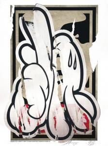 Shepard Fairey x Slick, DISSOBEY, 2015