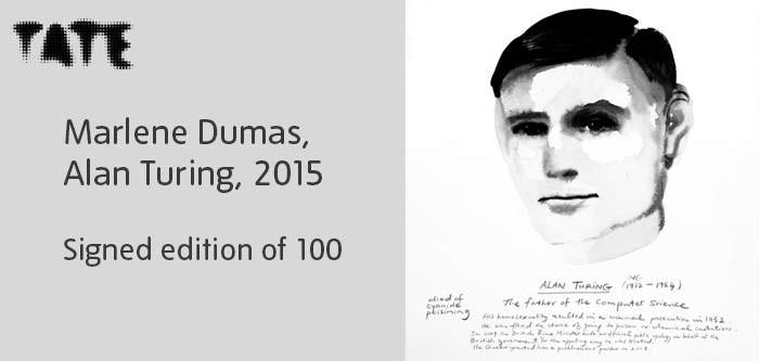 Marlene Dumas, Alan Turing