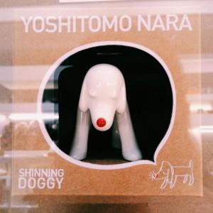 Yoshitomo Nara, Shinning Doggy - White