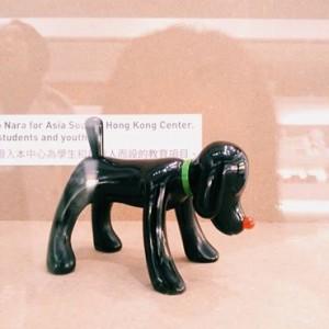 Yoshitomo Nara, Shinning Doggy - Black