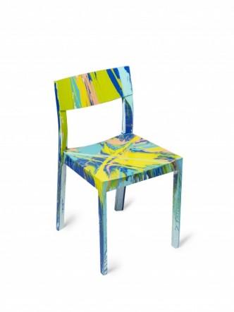 Damien Hirst, Spin Chair, 2015