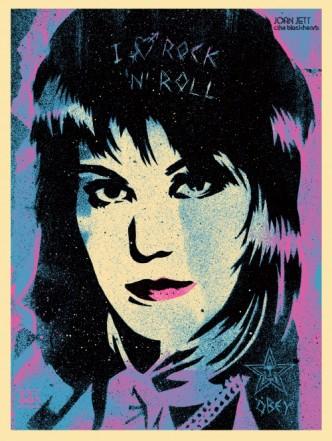 Shepard Fairey, I Love Rock 'n' Roll 33 1/3, 2015