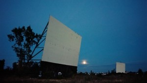 Wim Wenders. Landscapes - Drive-in at Night