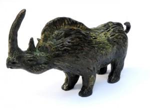 Billy Childish, Woolly Rhinoceros, 2015