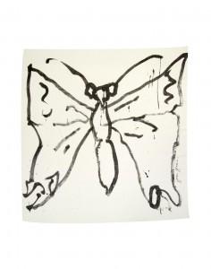 Joan Jonas, Untitled (Butterfly), 2015