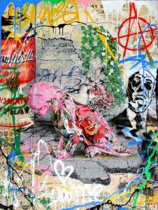 Mr Brainwash, Untitled (variation), 2015