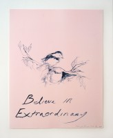 Tracey Emin, Believe in Extraordinary, 2015