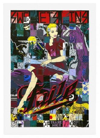 Faile, Sweet Sins Brooklyn, 2015
