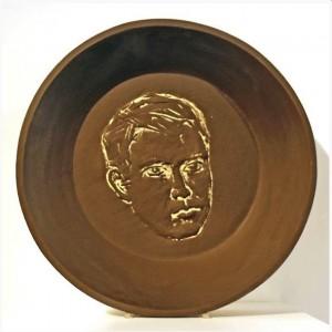 Stephan Balkenhol, Double Portrait (Side A), 2015