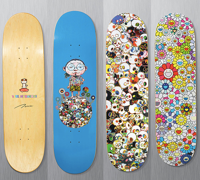 ebbeb43414 Vault by Vans x Takashi Murakami Skate Decks  SOLD  - New Art ...