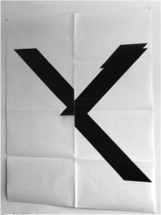 Wade Guyton - X-print - 2015