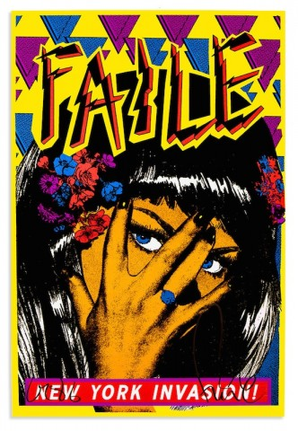 Faile, New York Invasion Black Light, 2015 Medium: Offset Print, Size: 24 x 36 Inch Signed Limited Edition of 200 Special NY Invasion Studio Stamp and Emboss