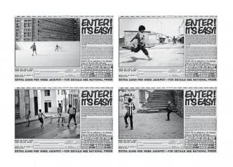 Liam Gillick, Forget about the ball and get on with the game, 2015