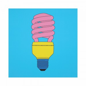 Michael Craig-Martin, Light Bulb, 2015