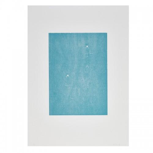 Martin Boyce, Always Fall Blue, 2015