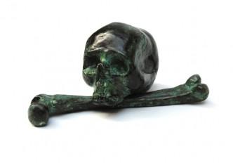 Billy Childish, Skull & Femur, 2015