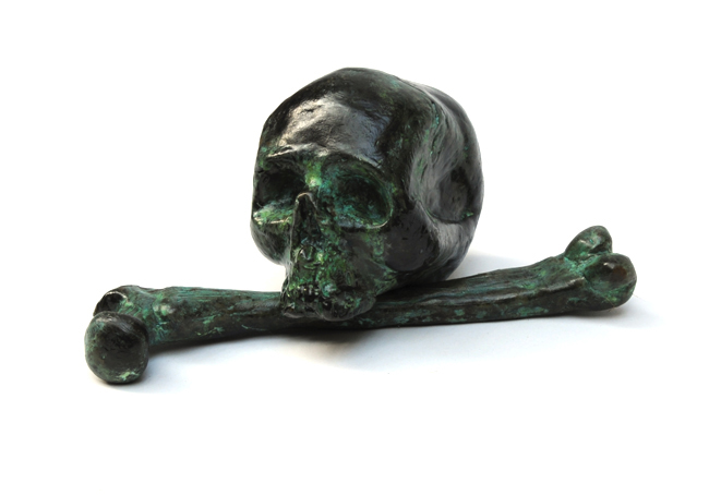 Billy Childish, Skull & Femur, 2015