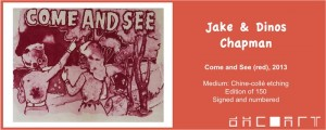 Jake & Dinos Chapman, Come & See (Red), 2013