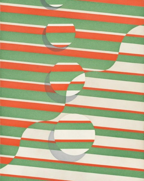 Tomma Abts, wavy line