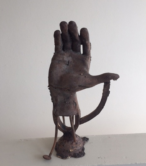 Heimo Zobernig, Untitled (Hand), 2015