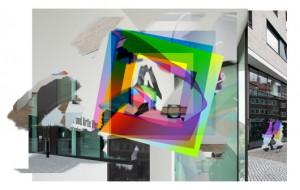 Artie Vierkant Installation view, Westfälischer Kunstverein, 2015