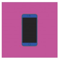 Michael Craig-Martin, iPhone 6s, 2015