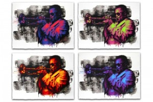 Mr Brainwash, Miles Davis, 2015