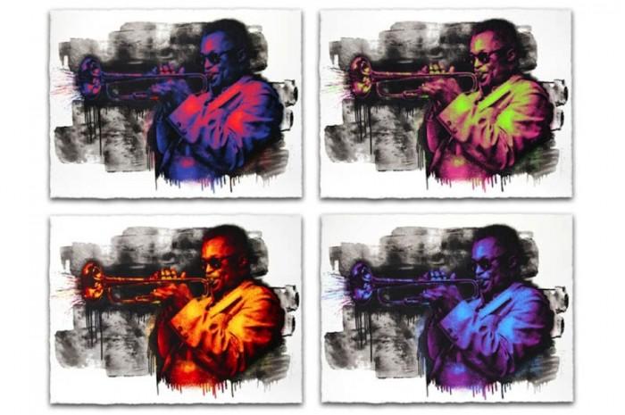 Mr Brainwash, Miles Davis, 2015