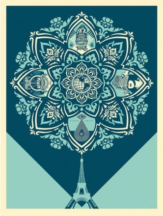 Shepard Fairey, A Delicate Balance, 2015