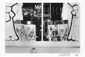 Ai Weiwei, Andy Warhol Memorial, Lower East Side Window 1987, 2015