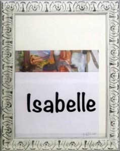 Albert Oehlen, Gemäldereproduktion, beschnitten und personalisiert, 2015