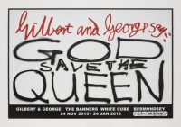Gilbert & George Say: God Save the Queen
