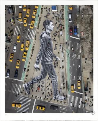 JR - Migrants, Walking New York City - 2015