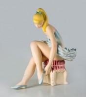 Jeff Koons - Seated Ballerina - 2015