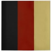 Gerhard Richter, BLACK-RED-GOLD IV, 2015