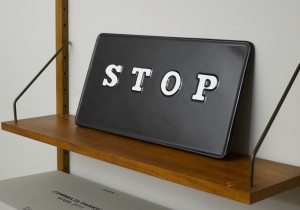Cornelia Parker, 'STOP', 2015 (Plinth Ikon 50 Edition)