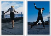 Robert Longo, Men in the Cities (Cindy) / Men in the Cities (Eric) 1981, 2014