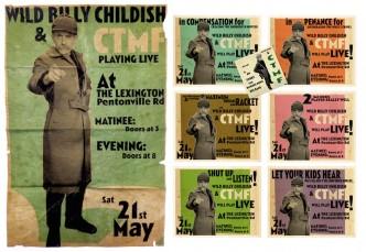 Billy Childish, Lexington set, 2016.