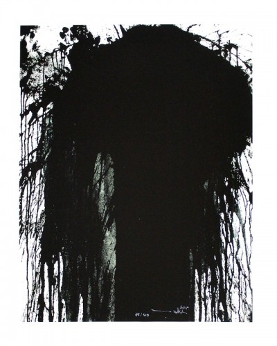 Hermann Nitsch, Schüttbilder / Splatter paintings, 2014 / 2016 (Moitf 4)