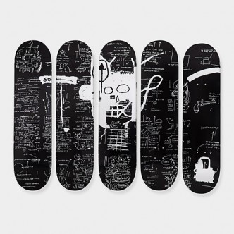 Jean-Michel Basquiat - Skate decks Demon