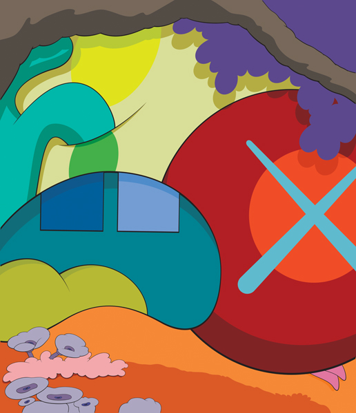 Water Resistant Woods This Is What You Should Know: KAWS @Yorkshire Sculpture Park *SOLD*