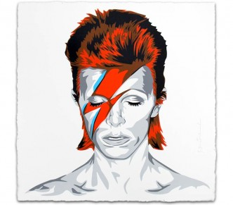 Mr Brainwash, Bowie (print), 2016