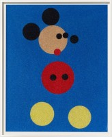 Damien Hirst, Mickey and Minnie, 2016