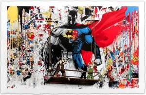Mr Brainwash, Batman vs Superman, 2016