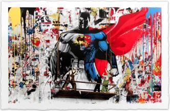 Mr Brainwash, Batman vs Superman, 2016
