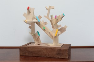 Ryan Gander, Consistent and inconsistent thinking (Japanese pre-cut off-cuts) , 2016